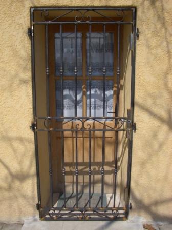 Le Fer Et Le Feu Grille Porte - Grille porte